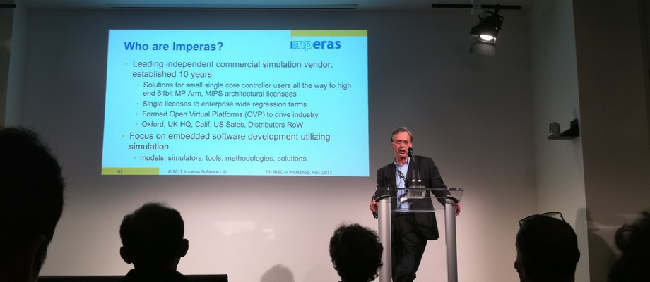 Imperas at 7th RISC-V workshop