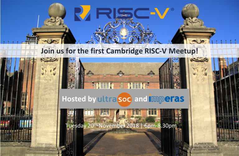 Cambridge RISC-V Meetup