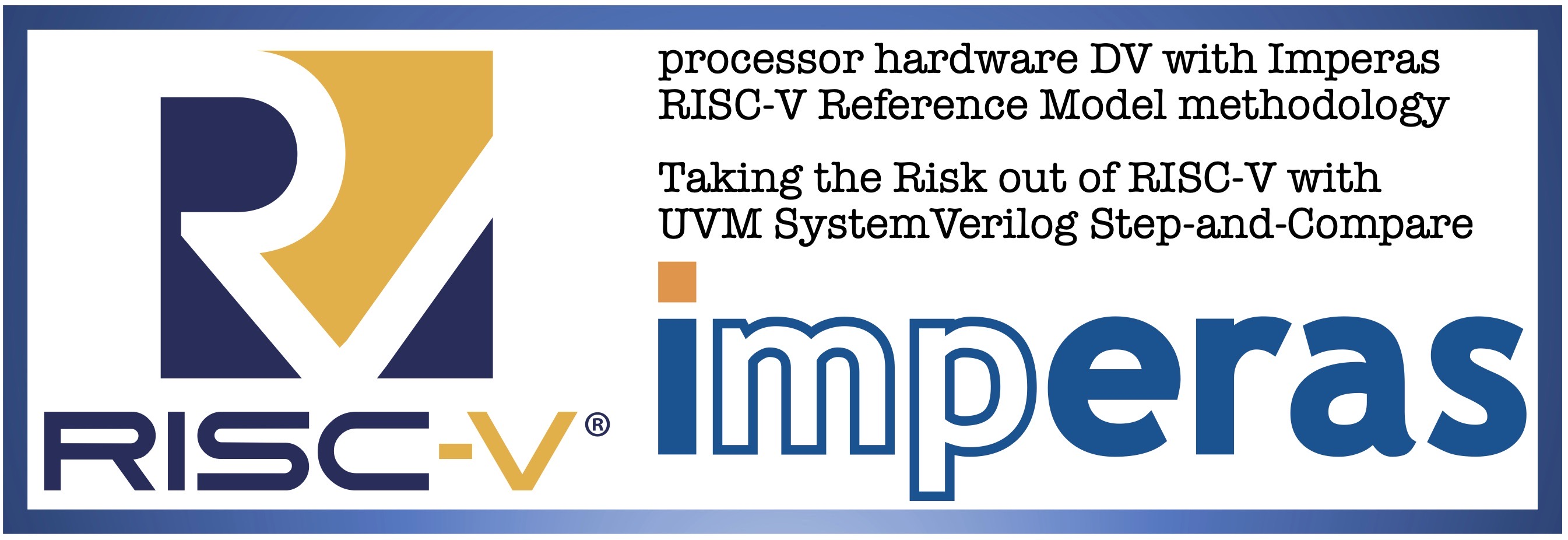 Imperas RISC-V Reference Model