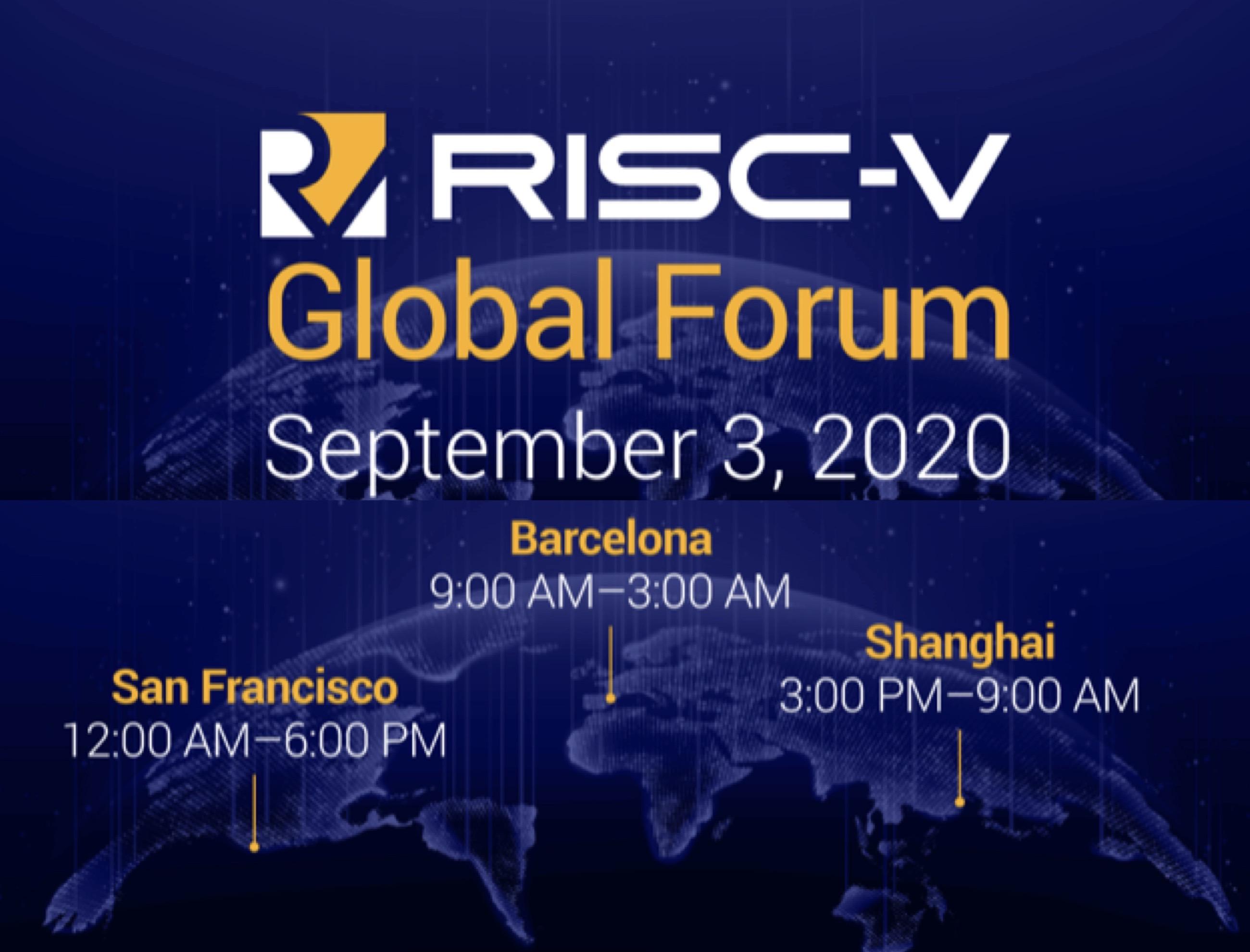 RISC-V Global Forum 2020